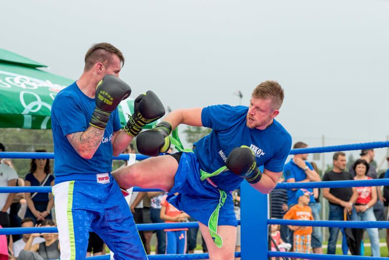 Kickbox, javni sparing