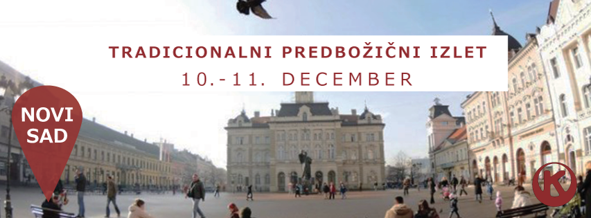 Tradicionalni predbožični izlet - Novi Sad 2016